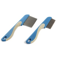 China for Pet Combs,Pet Lice Comb,Pet Flea Comb Manufacturers and Suppliers in China Metal Pet Grooming Comb export to Sweden Supplier