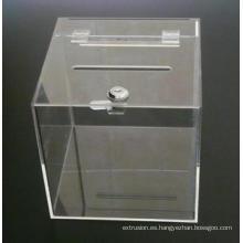 Fundición de hoja de acrílico / lámina de PMMA con la mejor transparencia