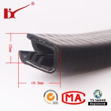U-Form PVC-Gummidichtungsstreifen mit Metall
