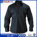 Kundenspezifische lange Hülsen-Arbeit Hemden Unisexhemd (YWS110)