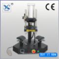 Fabricant d'alimentation double côté Machine de presse pneumatique bouchon de travail
