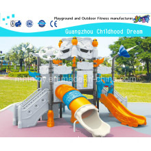 Large Outdoor Playground / Blue See Playground Robot Modeling Slides Combination (HA-06501)