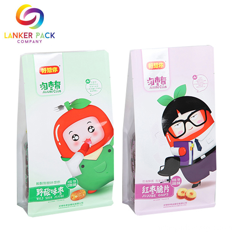plastic pouch with zipper