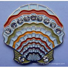 Shell Golf Ball Marker Customized (MJ-PIN-075)