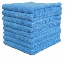 serviettes en microfibre en 350 g / m2 16 po x 16 po, 14 po x 14 po