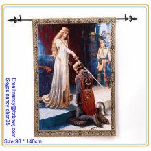 Jacquard Wall tapestry rod, haste de tapeçaria para decoração