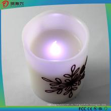 Luz de vela eléctrica segura del mini color al aire libre del LED