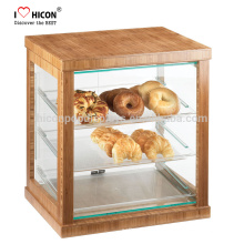Keep Your Food Fresh And Clean Retail Store Modern Glass Acrylic Showcase Bread Bakery Display Cabinet