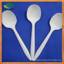 6inch Biodegradable Cornstarch Tea Spoon