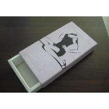 Caja de regalo de papel de empaquetado de la ropa interior de los hombres de la moda