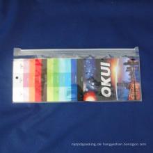 Ganze Verkauf Plastik-Reißverschluss-Verpackungs-Beutel