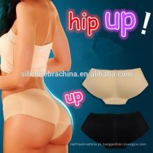 Novo design levantar bum calcinha de cintura alta