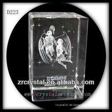 K9 3D Laser Unterwasser Gemini innerhalb Crystal Rectangle