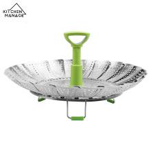 Stainless Steel Vegetable Folding Steamer Basket