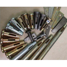 Accessoires de coffrage en aluminium longue goupille de coin