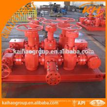 Colector de estrangulador de perforación API para equipos petroleros