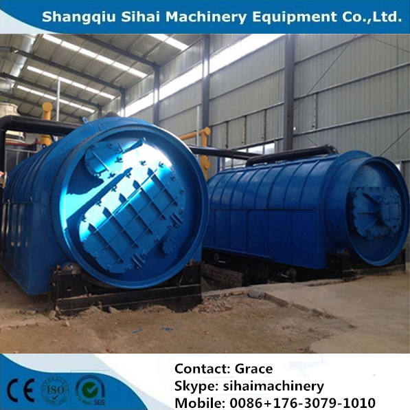 Overseas Service Provided Waste Tire to Oil Plant