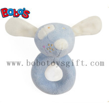 "5.5""Soft Blue Mouse Infant Animal Toys Baby Holder Toy"