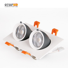 Led Downlights 2X7W Abjustable Bonne Conception
