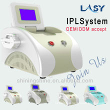 IPL und RF professionelle Schönheit Laser-Maschine für Haarentfernung