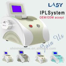 Máquina profesional del laser de la belleza del IPL y del RF para la eliminación del pelo