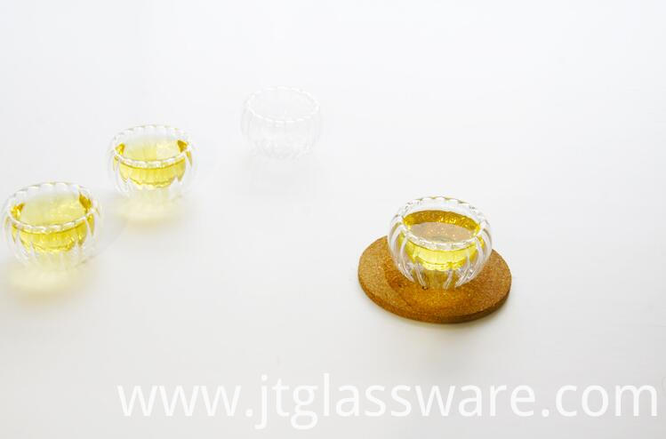 50ml Pumkin Glass Cup For Tea