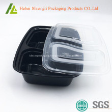 Biodegradable leak proof food packaging tray