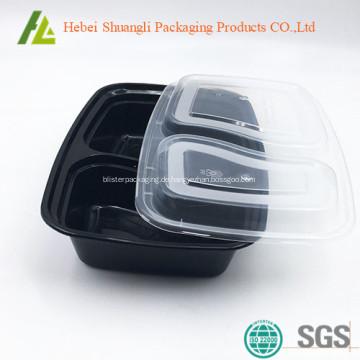 Biologisch abbaubare auslaufsichere Lebensmittelverpackung