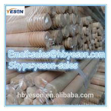 YESON A vassoura natural da venda quente segura por atacado / o punho natural da vassoura de madeira / vara natural do espanador