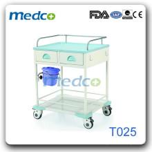 Chariot de traitement d'acier pour hôpitaux T025