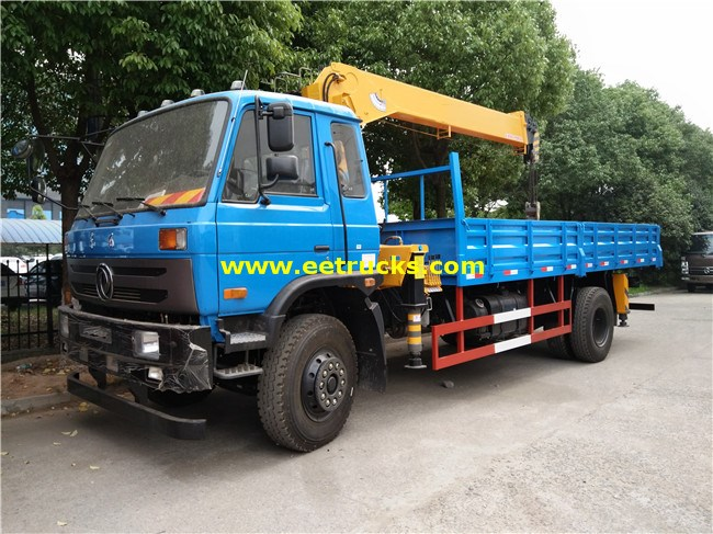 8 Ton Truck Mounted Hydraulic Cranes