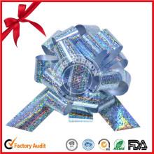 Geschenkverpackung Kunststoffband Bow, Weihnachten POM POM Pull Bow
