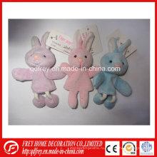 Горячая Распродажа мини игрушки Finger Кукольный Кролик