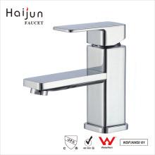 Haijun 2017 Promocional cUPC solo agujero de latón baño del cuerpo lavabo grifo