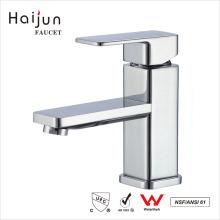 Haijun 2017 Promotional cUPC Single Hole Brass Body Bathroom Basin Faucet