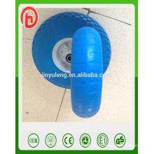 8 pouces 2.50-4 haute qualité pu mousse solide roue pour le Japon, le marché de la Corée du Sud
