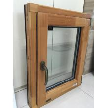 Aluminum wooden window