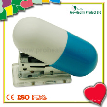 Personalised Capsule Shaped Mini Manual Stapler