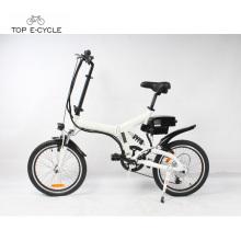 Heißer Verkauf 20 Zoll 250w faltbares elektrisches Fahrrad hergestellt in China