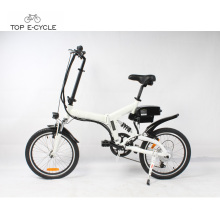Venda quente 20 polegada 250 w bicicleta elétrica dobrável made in China