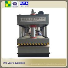 Presse hydraulique à quatre colonnes Yz27 Machine de presse hydraulique à emboutissage profond de 250 tonnes pour évier de cuisine en acier inoxydable