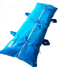 Mortuary Disposable PVC Dead Funeral Cadaver Cross PEVA Body Bag