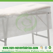 White Disposable Non-Woven Bed Sheet in Roll