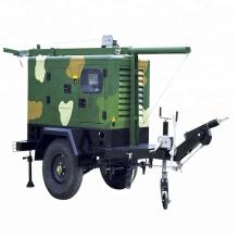Trailer mobile waterproof solar generator 72kw 90kva diesel energy generator price