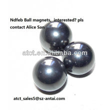 Leistungsstarke seltene Erden gesintert, Kugel-Neodym-Magneten, Dauermagnet, Magnetkugeln