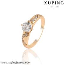13959-Xuping Good Quantity Cheap Price Diamond Ring Jewellery, rings gold 18k