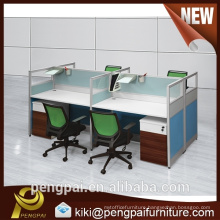 Cheap price cubicle office workstation for 4 people