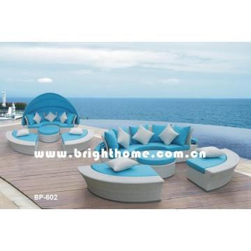 Außen-Lounge-Set / Tagesliege / Gartenmöbel (BP-602)