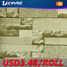 Uhome 3D Brick Wallpaper for Vintage Decorative