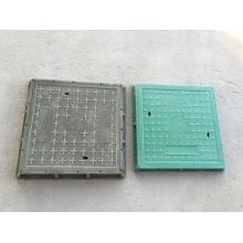 EN124 SMC BMC quadratischer Schachtdeckel aus Verbundwerkstoff